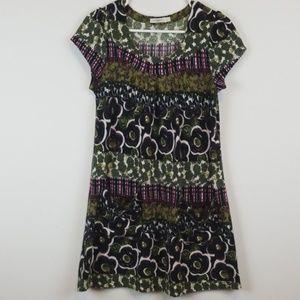 Anthropologie Hazel knit floral dress